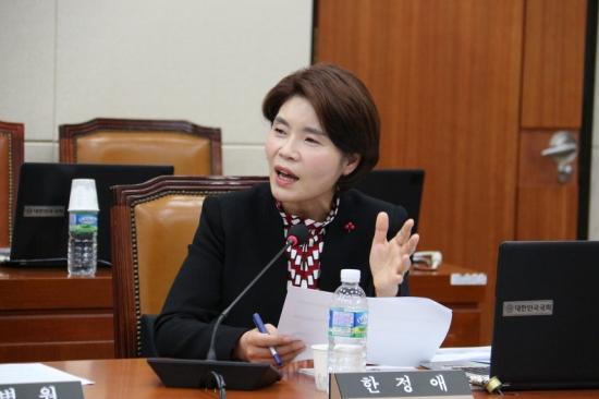 [정치人] 2018년 국회 마지막 날까지 고군분투한 한정애 의원