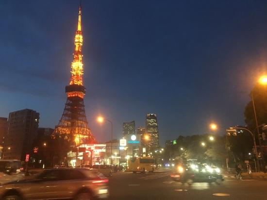 도쿄타워 주변 야경